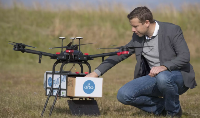 flytrex and aha expand drone delivery service in iceland