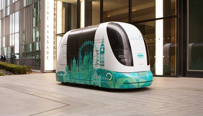 gateway autonomous vehicle project
