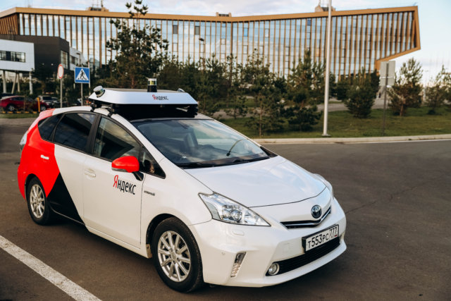 yandex launches autonomous ride sharing service in russia
