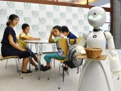 asian robots - the nippon foundation and alibaba preview the future of robot employment