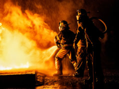 fire fighting and fog computing