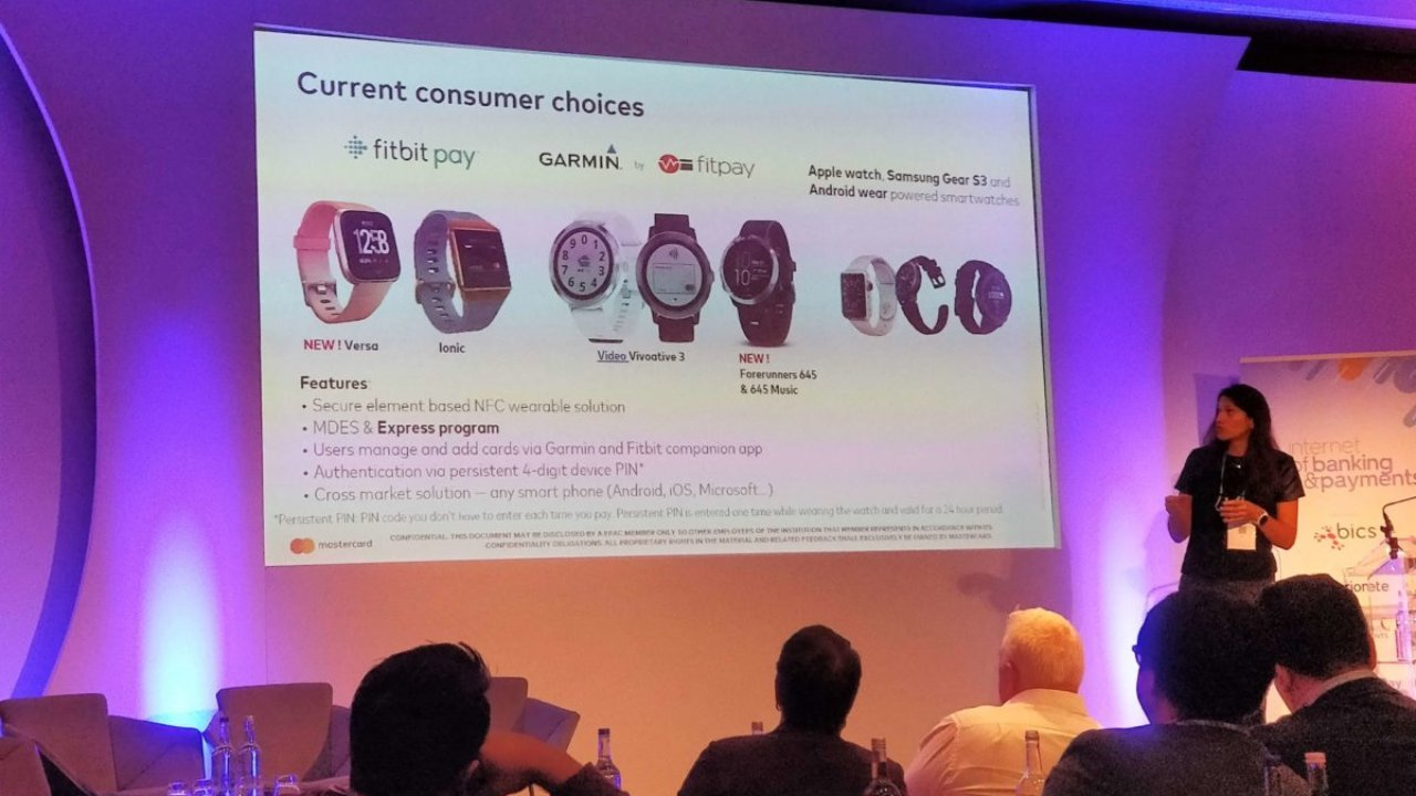 Mastercard's Veronika Colucci says the wearable payments