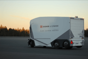 Einride self-driving truck