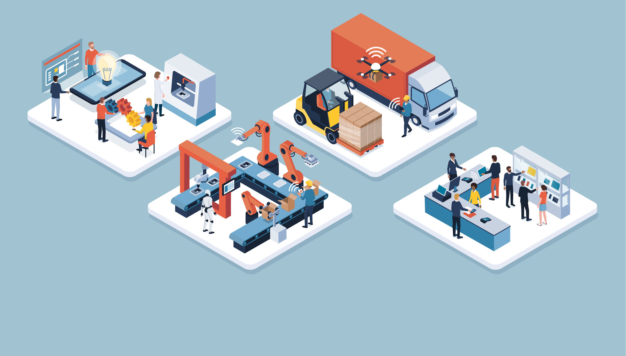 Technology Management Image: Complete Guide: 10 Smart Factory Trends To Watch In 2019